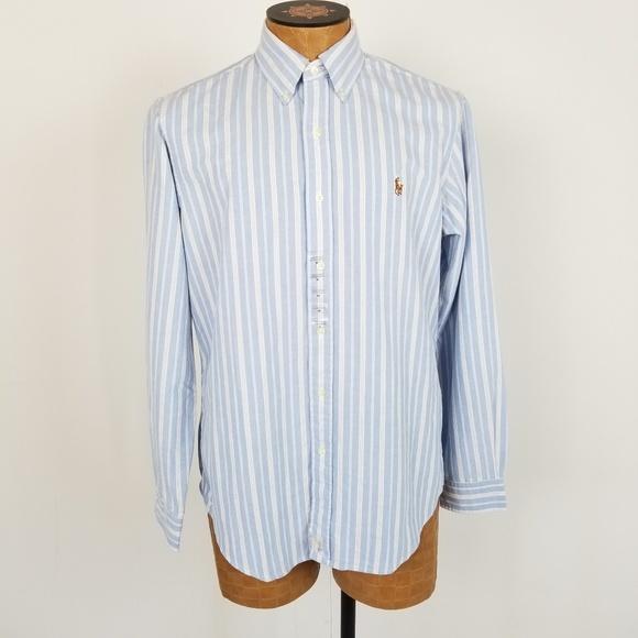 Ralph Lauren Other - *SOLD*NWT Ralph Lauren Striped Button Down Shirt M
